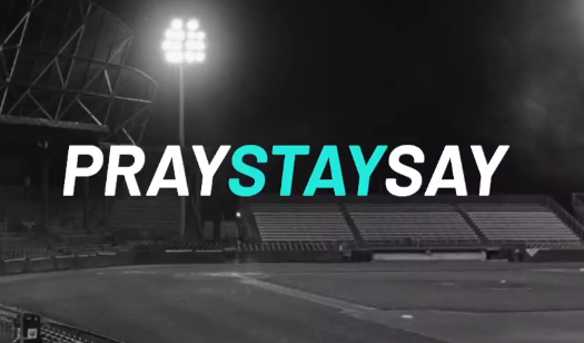 PraySTAYsay: a new campaign to reach sports people during the lockdown