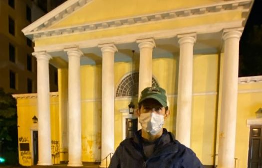 Historic church next to White House vandalised during George Floyd riots