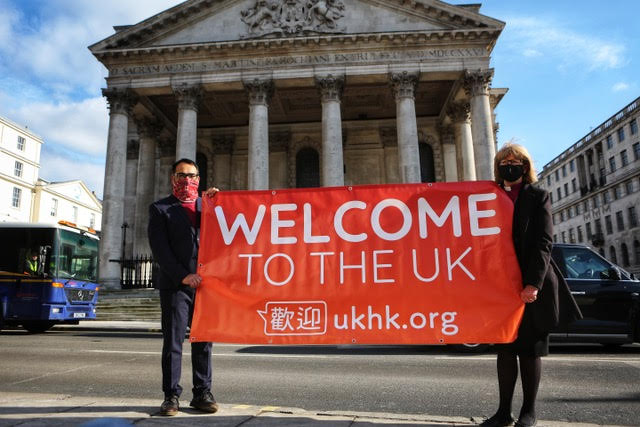 500 Churches in the UK Sign Up to Welcome Hong Kong Residents Fleeing China's Increasing Surveillance of the City