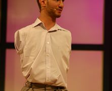 'Limbless evangelist' Nick Vujicic recalls the time he came face to face with '10-foot-tall demons'