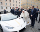 Pope Francis gifted Lamborghini supercar – but gives it away to help Iraqi Christians