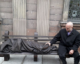 Jesus the homeless: Controversial sculpture unveiled outside Manchester church