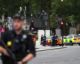 Westminster car crash 'treated as terrorist incident', police say