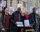 Christians protest outside Nigerian High Commission on anniversary of Leah Sharibu's abduction